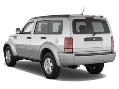 Dodge Nitro SE SUV (2007 - 2011) 5 Türen seitlich hinten