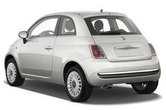 Fiat 500 Lounge Kleinwagen (2007 - heute) 3 Türen seitlich hinten