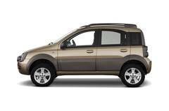 Fiat Panda Cross Kleinwagen (2003 - 2012) 5 Türen Seitenansicht