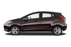 Ford Fiesta Titanium Kleinwagen (2008 - 2017) 5 Türen Seitenansicht
