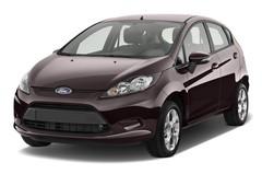 Ford Fiesta Titanium Kleinwagen (2008 - 2017) 5 Türen seitlich vorne