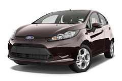 Ford Fiesta Titanium Kleinwagen (2008 - 2017) 5 Türen seitlich vorne mit Felge