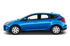 Ford Focus Titanium Limousine (2010 - heute) 5 Türen Seitenansicht