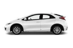 Honda Civic Comfort Kompaktklasse (2011 - 2015) 5 Türen Seitenansicht