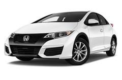 Honda Civic Comfort Kompaktklasse (2011 - 2015) 5 Türen seitlich vorne mit Felge
