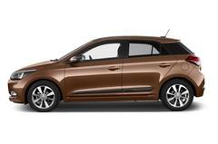 Hyundai i20 Style Kleinwagen (2014 - heute) 5 Türen Seitenansicht
