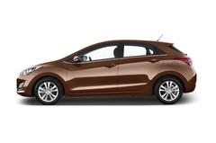 Hyundai i30 Style Kompaktklasse (2012 - 2017) 5 Türen Seitenansicht