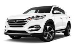 Hyundai Tucson Premium SUV (2015 - heute) 5 Türen seitlich vorne mit Felge