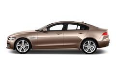 Jaguar XE R-Sport Limousine (2014 - heute) 4 Türen Seitenansicht