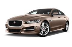 Jaguar XE R-Sport Limousine (2014 - heute) 4 Türen seitlich vorne mit Felge