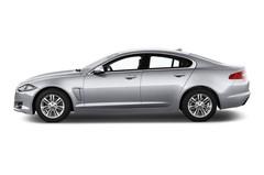 Jaguar XF 2.2 L Diesel Limousine (2015 - heute) 4 Türen Seitenansicht