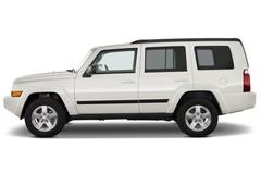 Jeep Commander Limited SUV (2006 - 2010) 5 Türen Seitenansicht