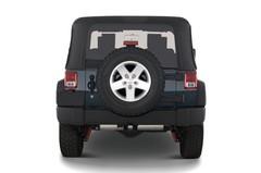 Jeep Wrangler Rubicon SUV (2007 - heute) 3 Türen Heckansicht