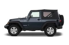 Jeep Wrangler Rubicon SUV (2007 - heute) 3 Türen Seitenansicht