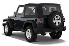 Jeep Wrangler Rubicon SUV (2007 - heute) 3 Türen seitlich hinten