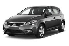 Kia Ceed Attract Kompaktklasse (2006 - 2013) 5 Türen seitlich vorne
