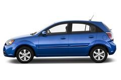 Kia Rio - Kleinwagen (2005 - 2011) 5 Türen Seitenansicht