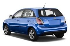Kia Rio - Kleinwagen (2005 - 2011) 5 Türen seitlich hinten