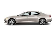 Maserati Quattroporte S Q4 V6 Awd Limousine (2013 - heute) 4 Türen Seitenansicht