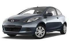 Mazda 2 Independence Kleinwagen (2007 - 2014) 3 Türen seitlich vorne mit Felge