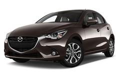 Mazda 2 Exclusive Line Kleinwagen (2014 - heute) 5 Türen seitlich vorne mit Felge