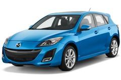 Mazda 3 Active Plus Kompaktklasse (2009 - 2013) 5 Türen seitlich vorne