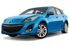 Mazda 3 Active Plus Kompaktklasse (2009 - 2013) 5 Türen seitlich vorne mit Felge