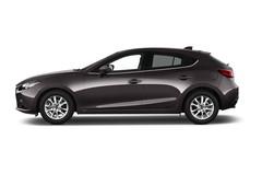 Mazda 3 Center-Line Kompaktklasse (2013 - heute) 5 Türen Seitenansicht
