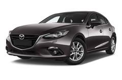 Mazda 3 Center-Line Kompaktklasse (2013 - heute) 5 Türen seitlich vorne mit Felge