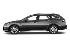 Mazda 6 Exclusive-Line Kombi (2008 - 2012) 5 Türen Seitenansicht