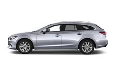 Mazda 6 Center-Line Kombi (2012 - heute) 5 Türen Seitenansicht
