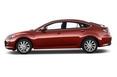 Mazda 6 Active Limousine (2008 - 2012) 5 Türen Seitenansicht