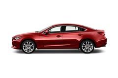 Mazda 6 Prime-Line Limousine (2012 - heute) 4 Türen Seitenansicht