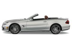 Mercedes-Benz SL AMG Cabrio (2001 - 2011) 2 Türen Seitenansicht