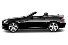 Mercedes-Benz SLK SLK 350 BlueEFFICIENCY Cabrio (2011 - 2016) 2 Türen Seitenansicht