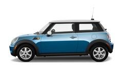 MINI Mini COOPER Kleinwagen (2006 - 2013) 3 Türen Seitenansicht