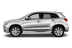Mitsubishi ASX Invite SUV (2010 - heute) 5 Türen Seitenansicht