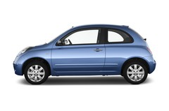Nissan Micra Connect Kleinwagen (2003 - 2010) 3 Türen Seitenansicht