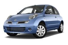 Nissan Micra Connect Kleinwagen (2003 - 2010) 3 Türen seitlich vorne mit Felge