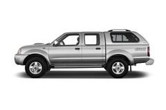 Nissan Navara B�sico Pritsche (1998 - 2004) 2 Türen Seitenansicht