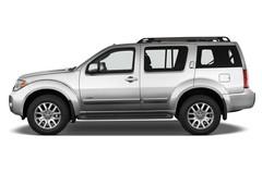 Nissan Pathfinder LE SUV (2004 - 2013) 5 Türen Seitenansicht