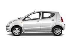 Nissan Pixo Visia Kleinwagen (2009 - 2013) 5 Türen Seitenansicht