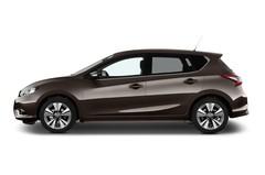 Nissan Pulsar 1.5 Dci Acenta Kompaktklasse (2014 - heute) 5 Türen Seitenansicht