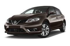 Nissan Pulsar 1.5 Dci Acenta Kompaktklasse (2014 - heute) 5 Türen seitlich vorne mit Felge