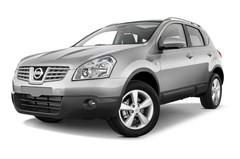 Nissan Qashqai TEKNA SUV (2007 - 2013) 5 Türen seitlich vorne mit Felge
