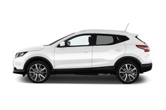 Nissan Qashqai TEKNA SUV (2013 - heute) 5 Türen Seitenansicht
