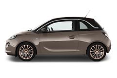 Opel Adam GLAM Kleinwagen (2012 - heute) 3 Türen Seitenansicht