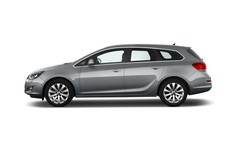 Opel Astra Sport Kombi (2009 - 2015) 5 Türen Seitenansicht