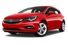 Opel Astra Dynamic Kompaktklasse (2015 - heute) 5 Türen seitlich vorne mit Felge