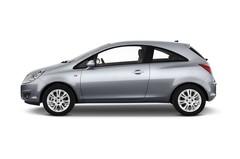 Opel Corsa Selection Kleinwagen (2006 - 2014) 3 Türen Seitenansicht